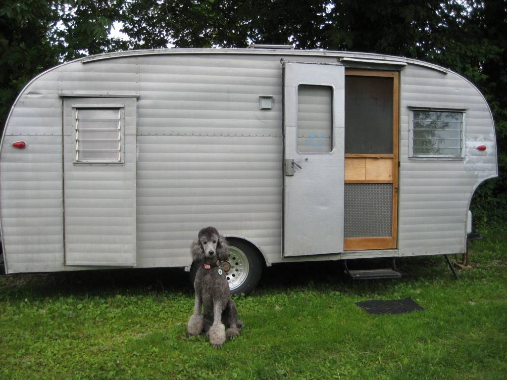 our canned ham camper
