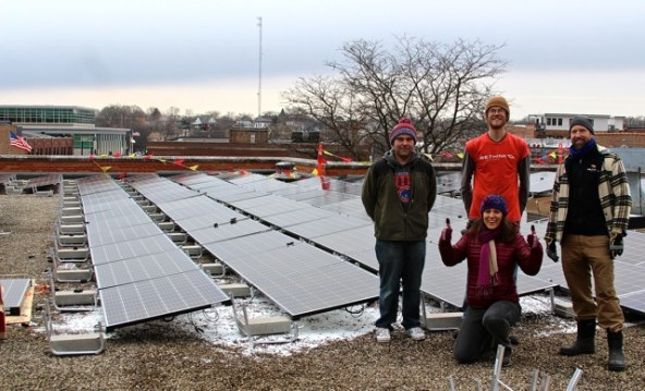 ReThink Electric's installation progress is ahead of schedule. Thumbs-up!