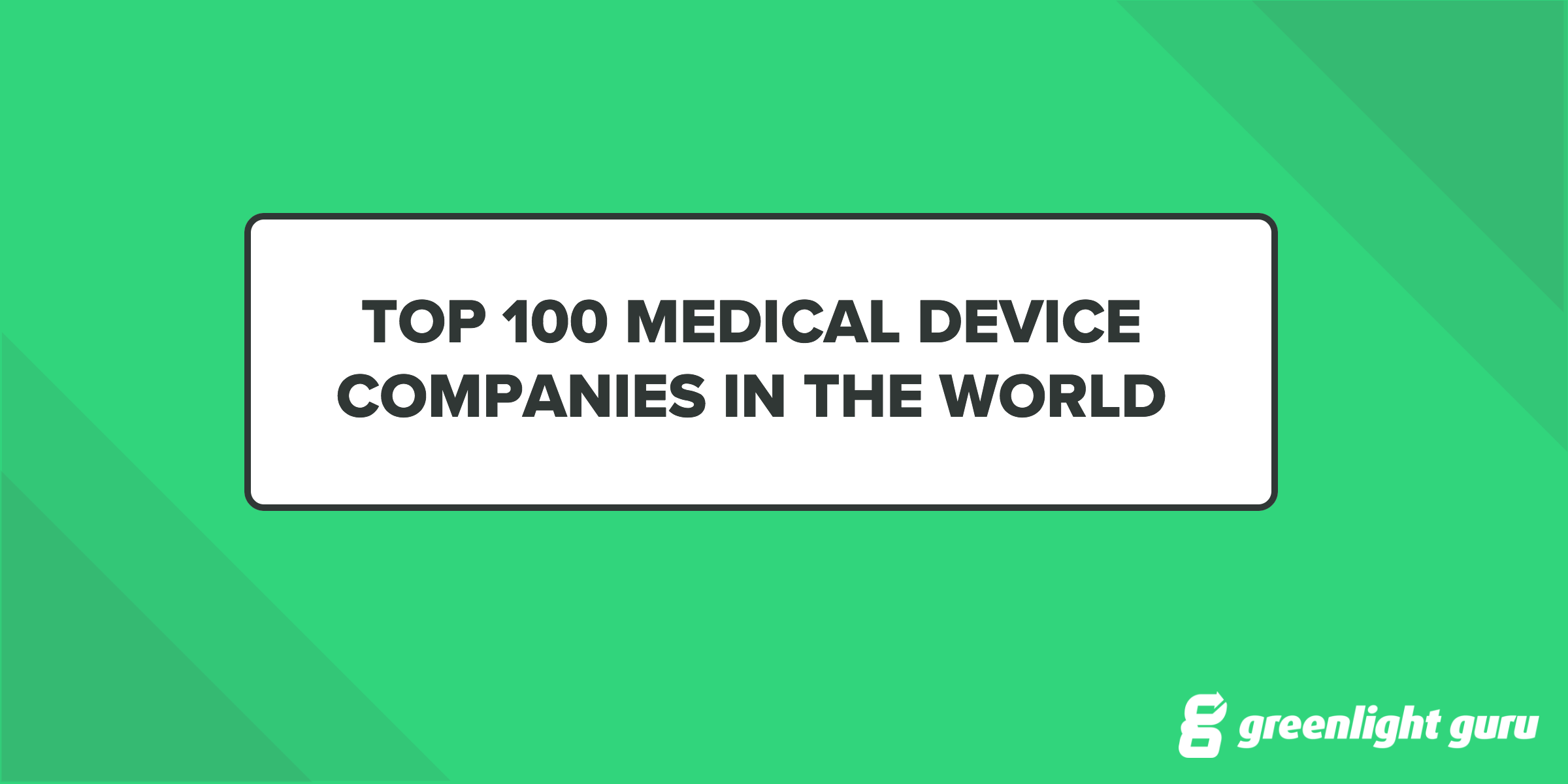 hight resolution of top medical device companies