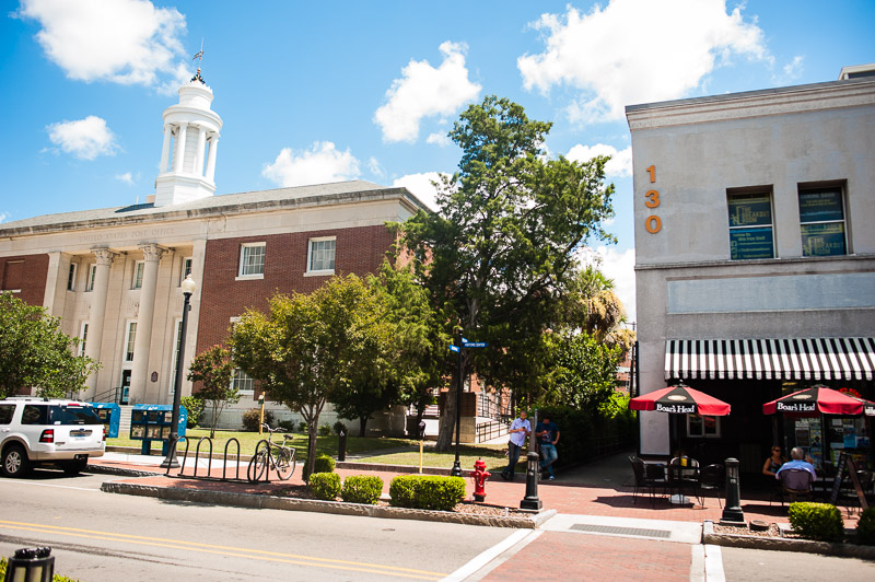 The Breakout Room Escape Games next to the US Post Office in Downtown Wilmington