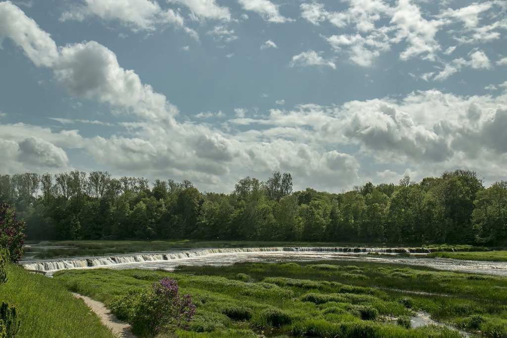 Venta Rapid in Latvia - the widest waterfall in Europe