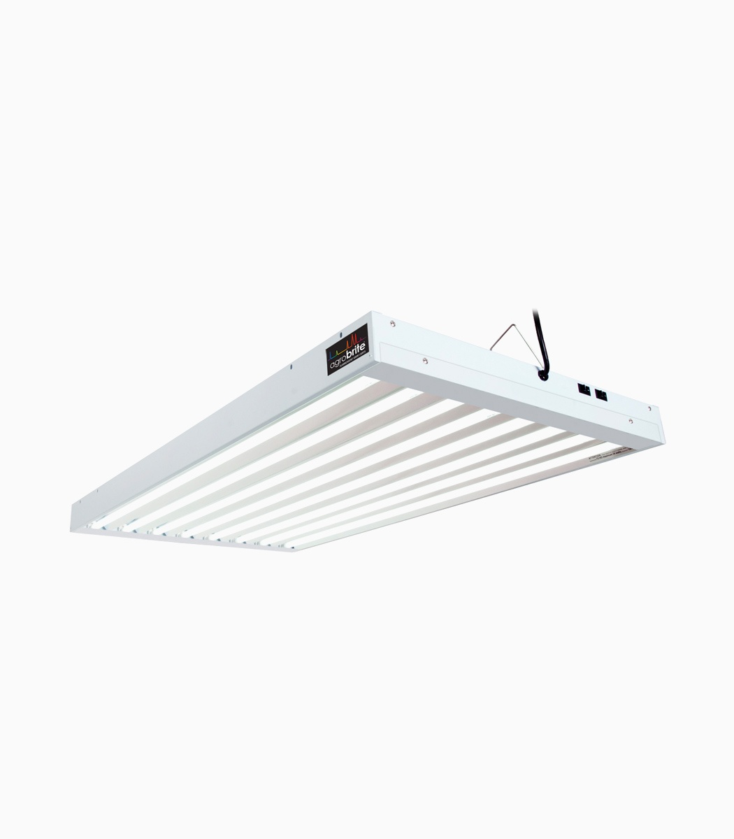 Agrobrite T5 432w 4 8 Tube Fixture With Lamps