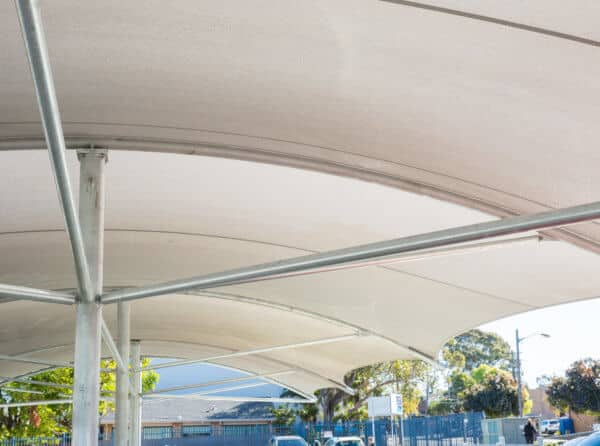 Carpark shade Structure
