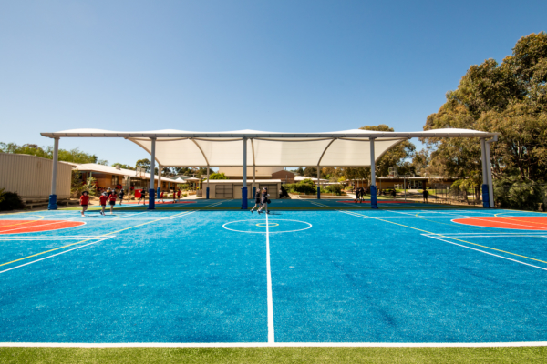 Sports court cover