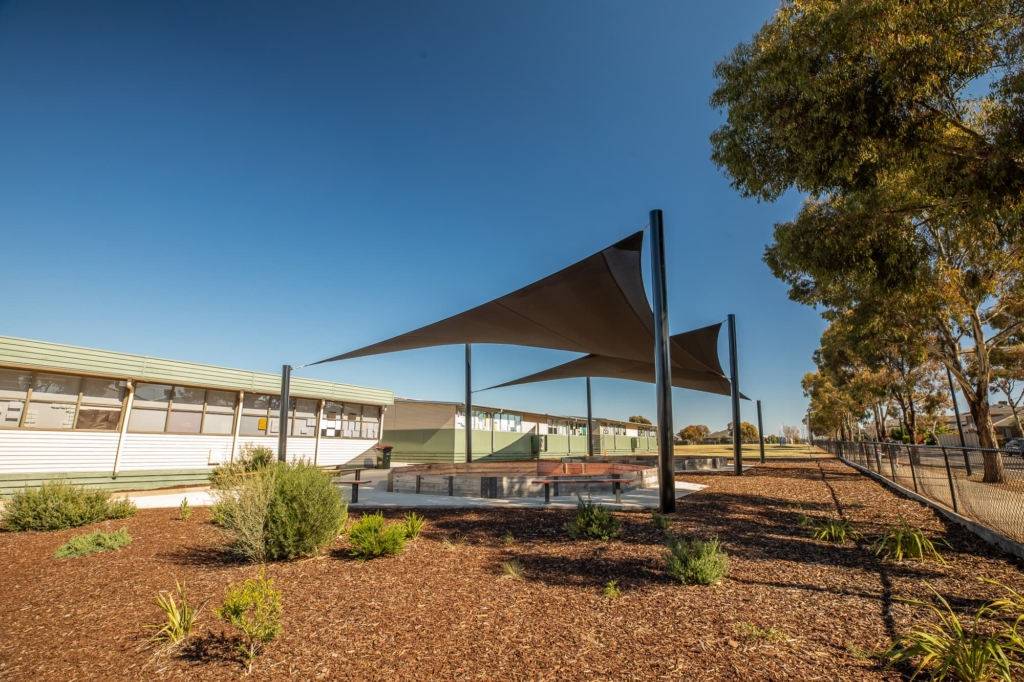 Shade sails that last for schools