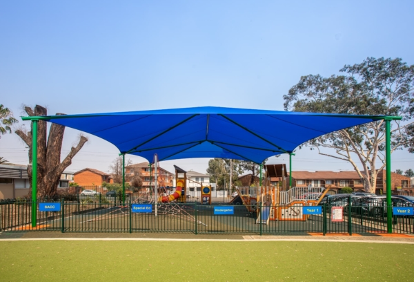 shade for playgrounds