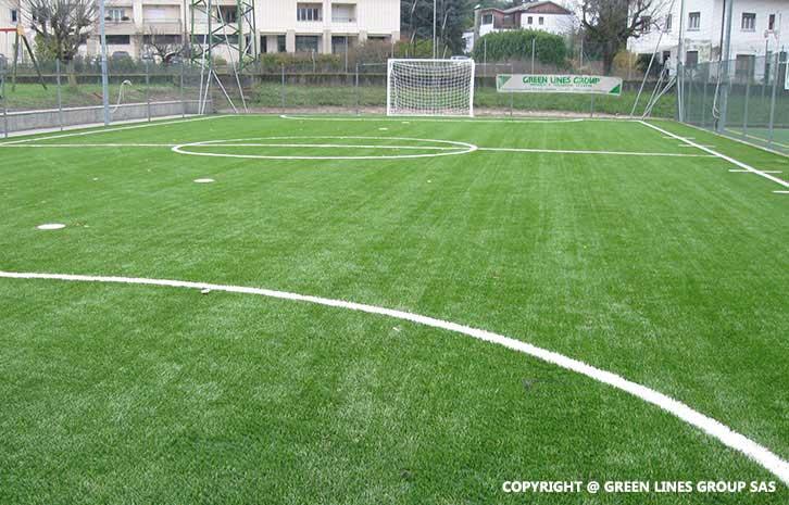 Realizzazione campo da calcio a 5 a Dolzago