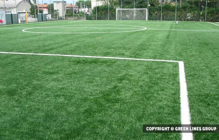 Realizzazione campo da calciotto a Lurate Caccivio