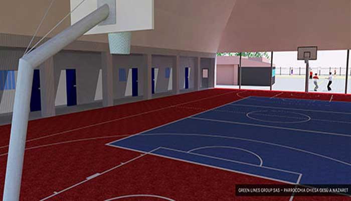 Progettazione e realizzazione campo sportivo