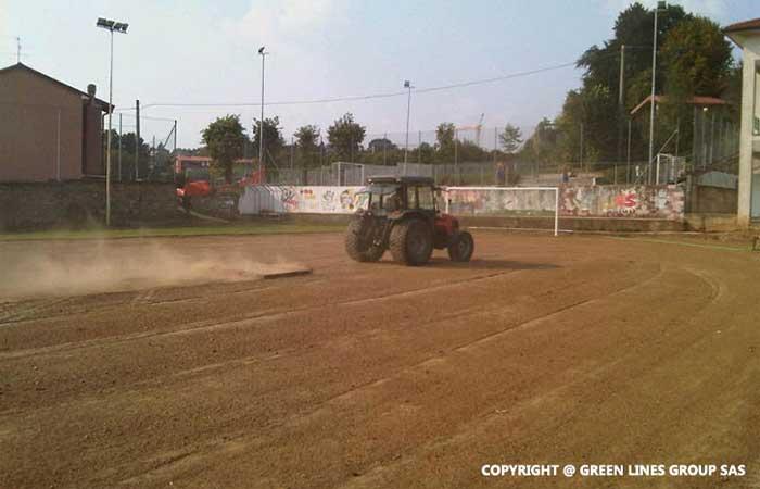 Green Lines Group: realizzazione di campi da calcio in erba naturale