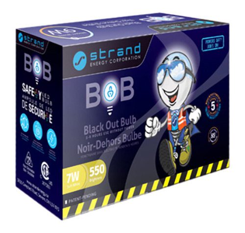 Black Out Bulb package