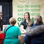 Ontario Wood exhibits at the 2017 Green Living Show