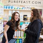 Pure Feast exhibits at the 2017 Green Living Show