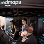Weedmaps exhibits at the 2017 Green Living Show Cannaspace