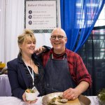 Chefs Charlotte Langley and Robert Pendergast of PEI Foods at the 2017 Green Living Show