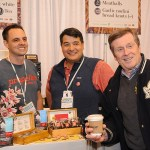Mayor John Tory visits Propeller Coffee in the Food Feature at the 2017 Green Living Show