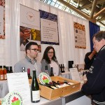 Mayor John Tory visits Southbrook Vineyards in the Food Feature at the 2017 Green Living Show