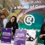 G Adventures exhibits at the 2017 Green Living Show