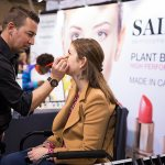 Saint Cosmetics exhibits at the 2017 Green Living Show