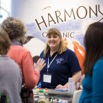 Harmony Organics exhibits at the 2017 Green Living Show