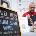Wafel Huis offers Belgian Sugar Waffles at the 2017 Green Living Show's food feature