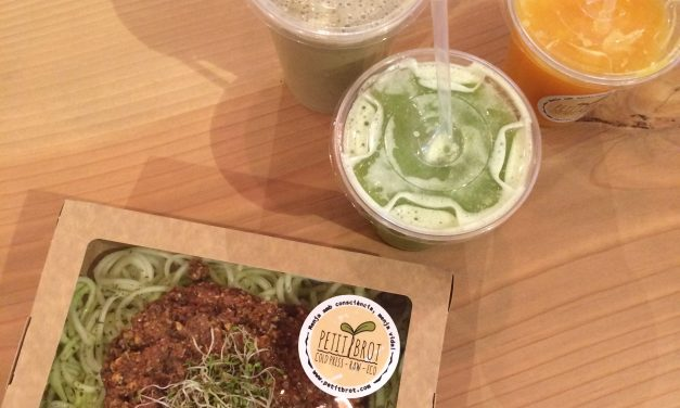 Petit Brot Barcelona: Healthy Vegan Food in a Beautiful Setting