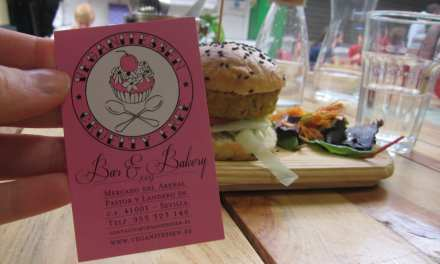 Vegan Cake and Burgers in Seville