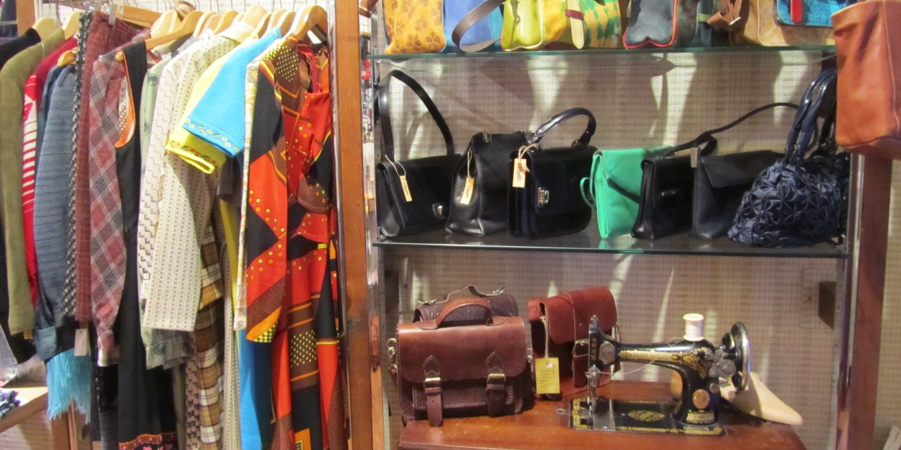 vintage and second hand clothing in madrid green living spain
