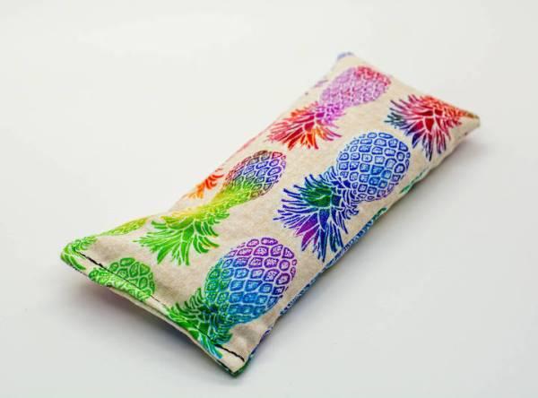 Pineapple lavender eye pillow