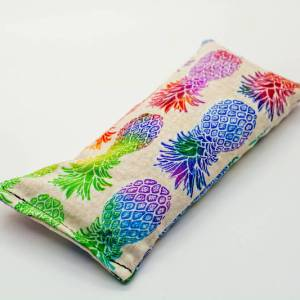 Pineapple lavender eye pillow
