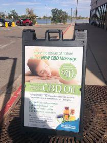CBD Massage Hand & Stone