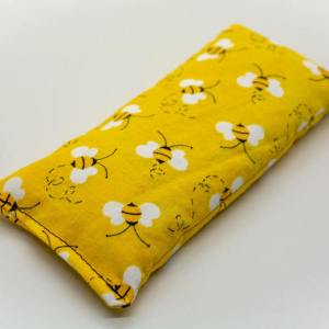 Bee Print Lavender Eye Pillow