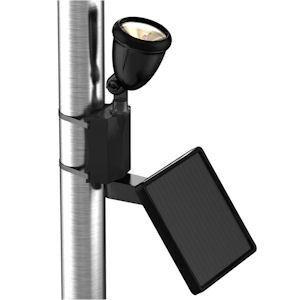 Maxsa Solar Flag Light Solar Flagpole Light Greenlytes