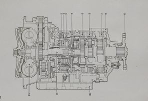 ZF HP 600. DROPS. Automatic gearbox. Illustrated parts