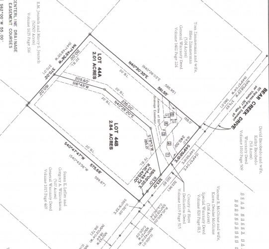 8705 A Bear Creek Drive LOT 78737 :: Green Mango Real Estate