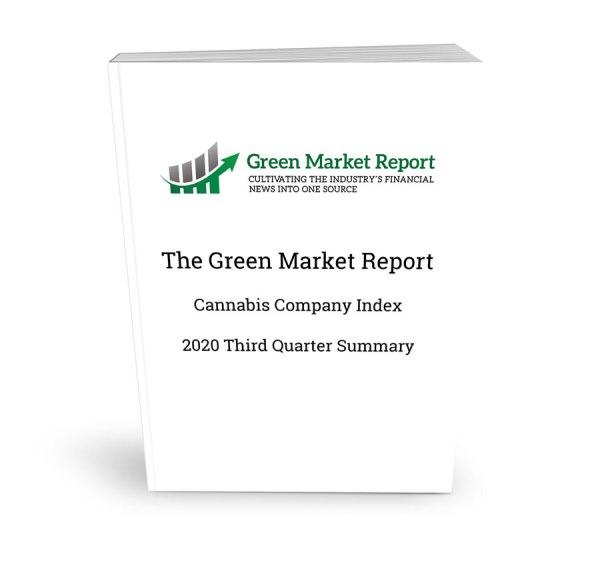 Cannabis Company Index Third Quarter 2020