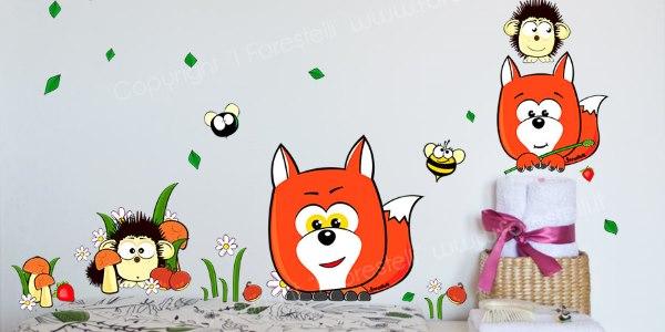 Stickers e adesivi murali originali, decorazioni da parete per bambini, camerette, cucine, camere da letto con frasi, scritte, alberi, fiori e tanto altro. Adesivi Murali Stickers Colorati Per La Camera Dei Tuoi Bambini Greenme