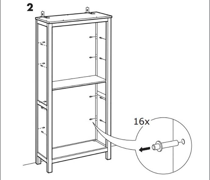 Ikea Pericolo Per Librerie E Vetrine Hemnes E Cassettiera