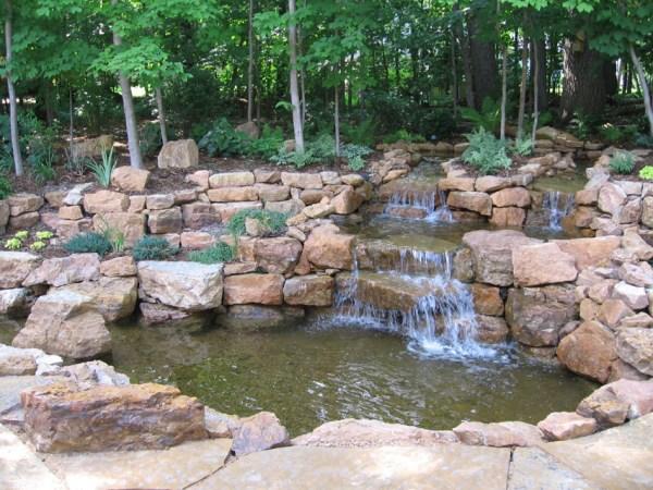 landscape water features & pergolas