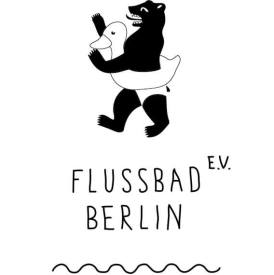 Flussbad Berlin - Logo | GreenMe Berlin Podcast