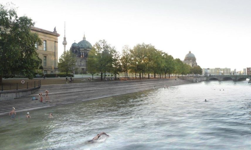 Flussbad Berlin, Perspective at Lustgarten | GreenMe Berlin Podcast