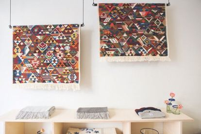 FOLKDAYS, carpets, photo: Zoe Spawton | GreenMe Berlin Podcast