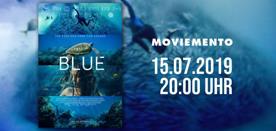 BLUE The Film - Berlin Screening + Q&A (panel dicussion) | GreenMe Events