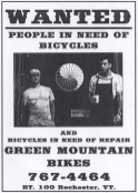 WANTED. People in need of bicycles.