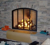 Fireplace Glass Doors by Stoll | Manchester, Vermont ...