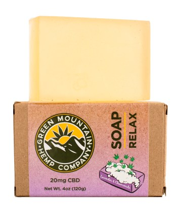 CBD Soap from Green Mountain Hemp Company