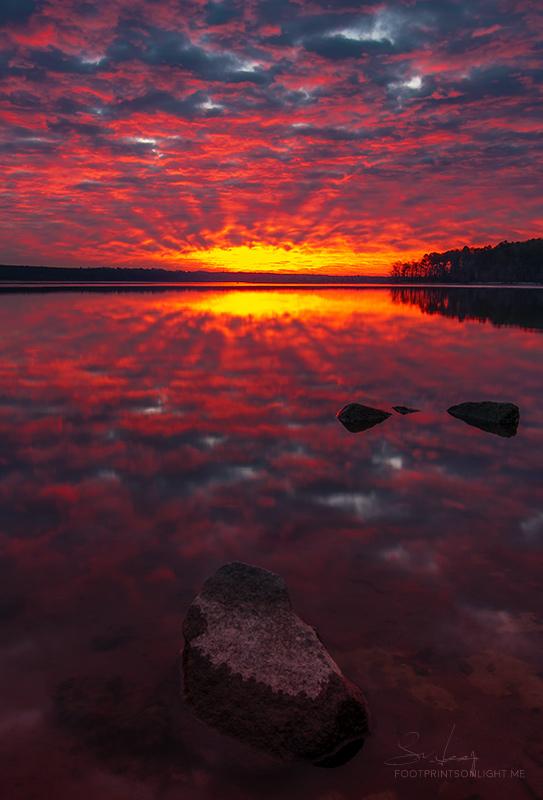 Stalking sunsets