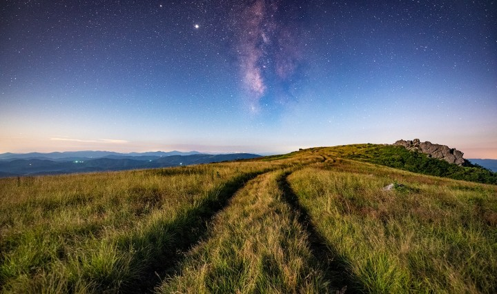 The Milky Way in the Appalachians