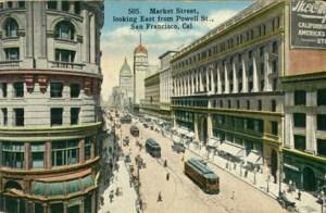 Market Street, San Francisco, CA, circa 1900