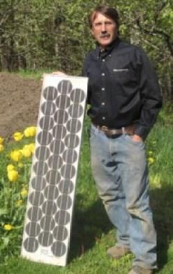 Martin Halloway's 1980 ARCO 33 W Solar Panel